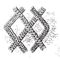 diamond stitch